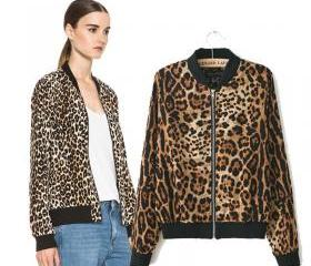 Leopard collar short..